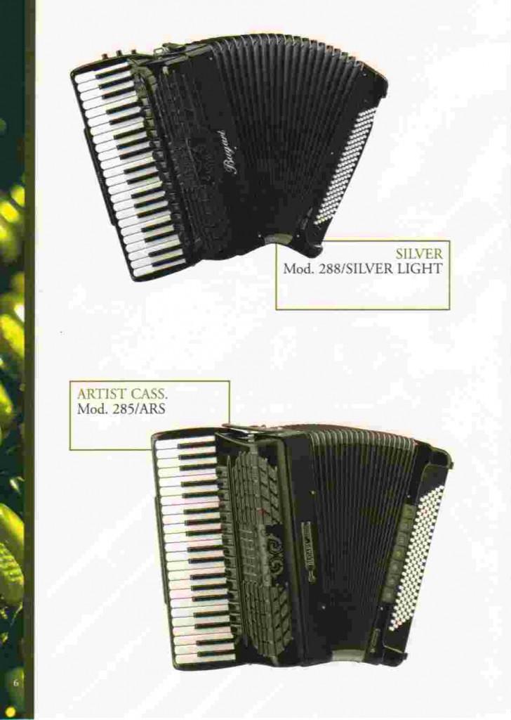 Bugari, концертный аккордеон, Standart Bass