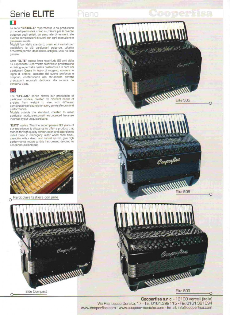 Cooperfisa. Аккордеон / Accordion Serie Elite