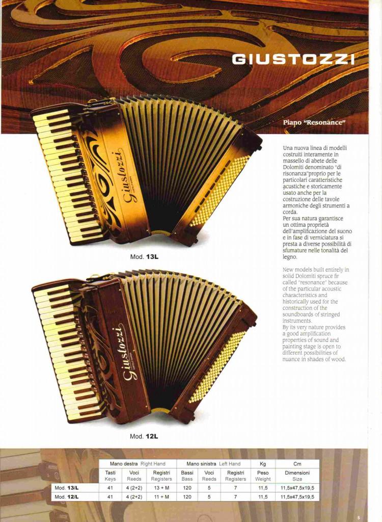 Giustozzi, аккордеон Resonance