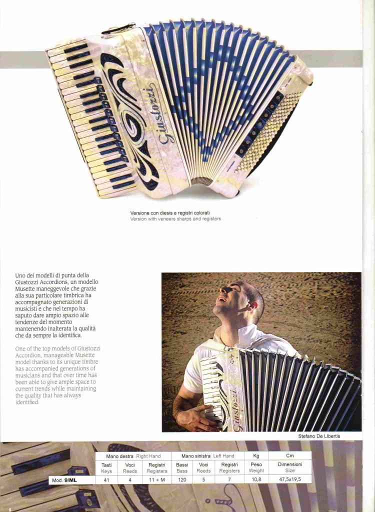 Giustozzi, Аккордеон, Piano