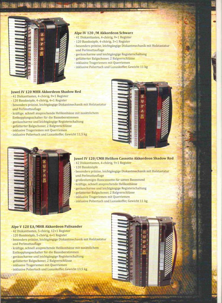 Zupan, аккордеон