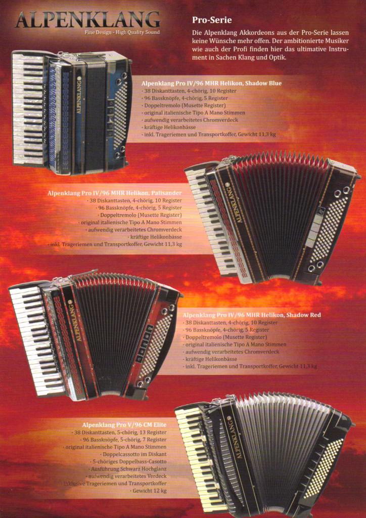 Alpenklang, профессиональный аккордеон