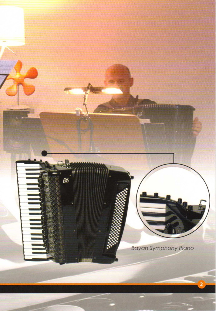 Ballone Burini, готово-выборный концертный аккордеон