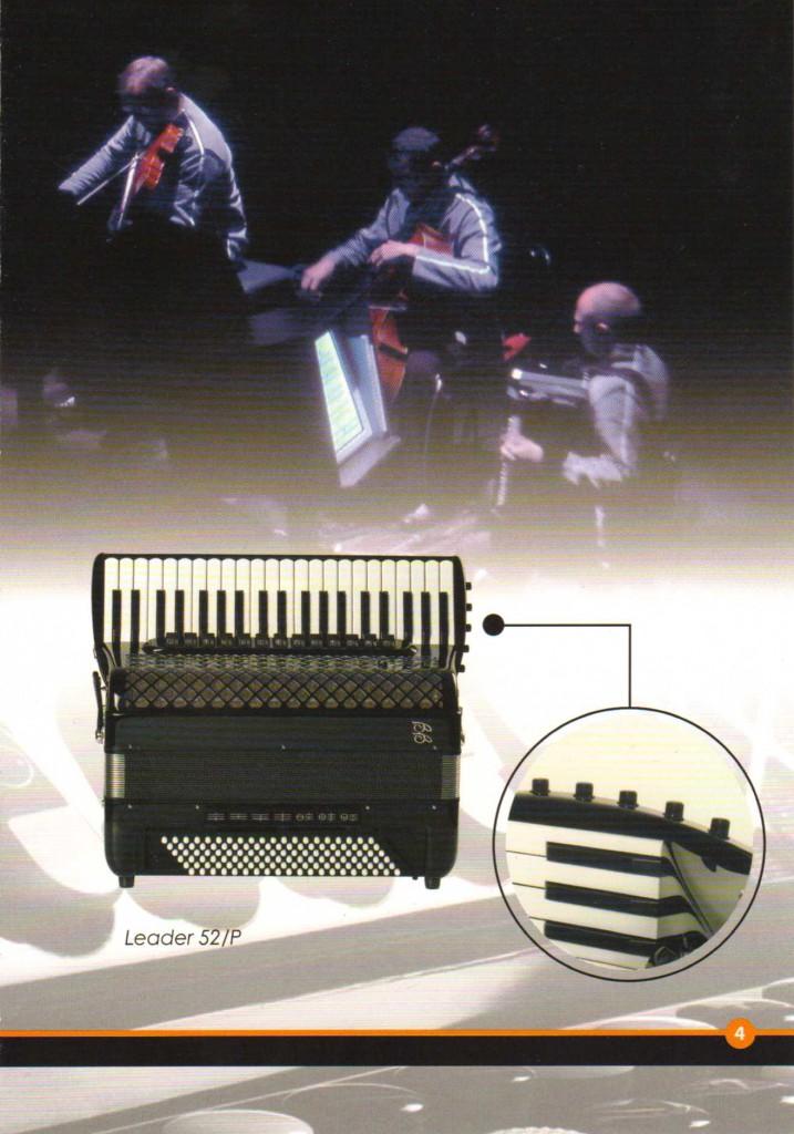 Ballone Burini, выборный концертный аккордеон