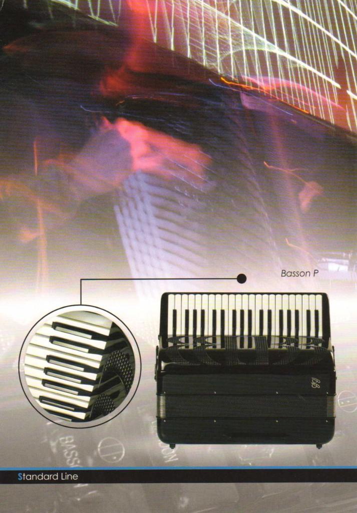 Ballone Burini, бас-аккордеон Basson