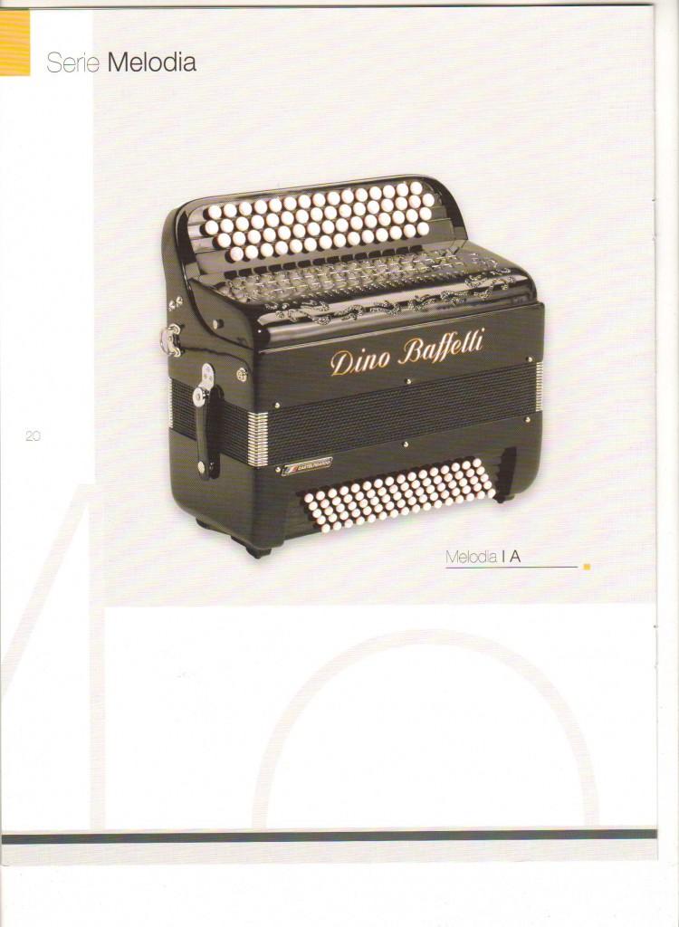 Dino Baffetti, баян Melodia