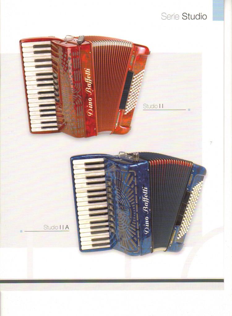 Dino Baffetti, ученический аккордеон Studio
