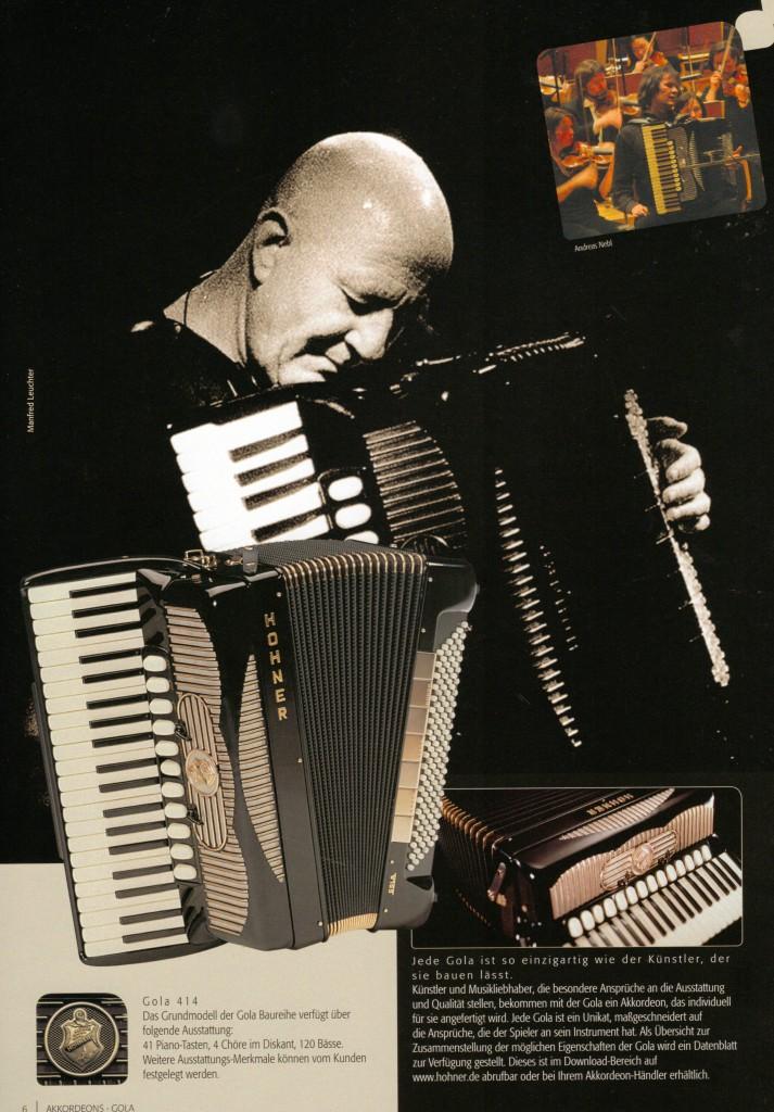 Hohner, аккордеон Gola