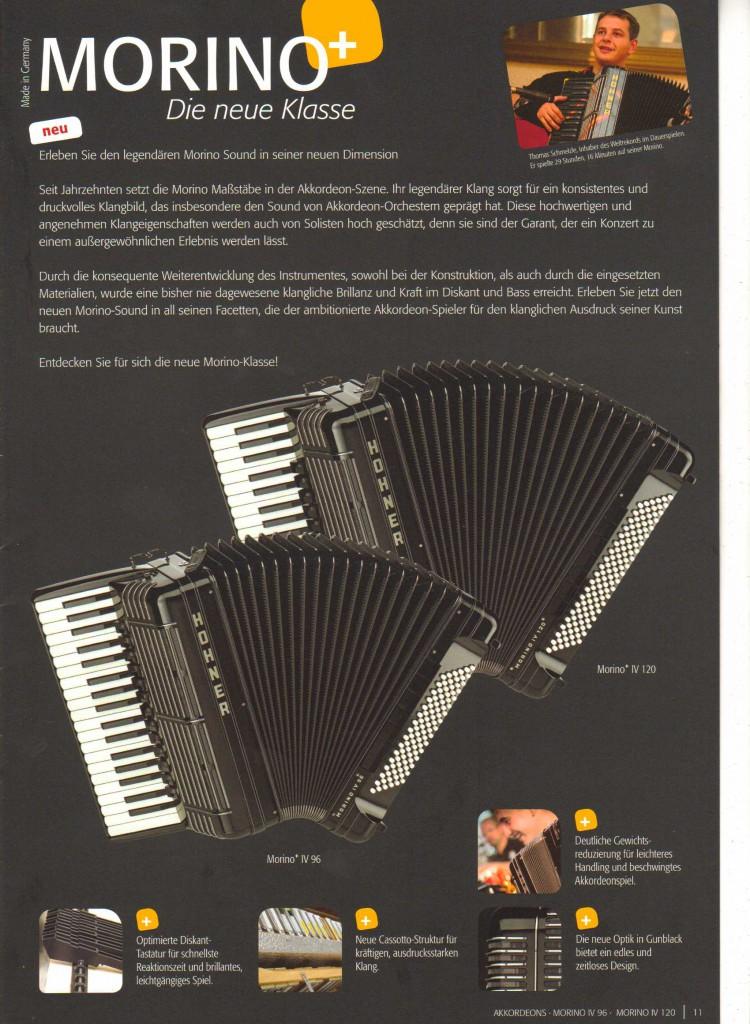 Hohner, аккордеон Morino IV