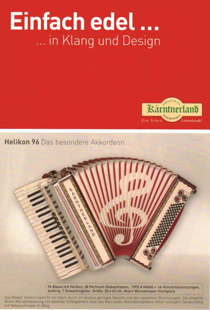 Kärntnerland, аккордеон Helikon