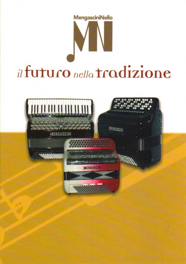 Mengascini выпускает баяны и аккордеоны широкого спектра