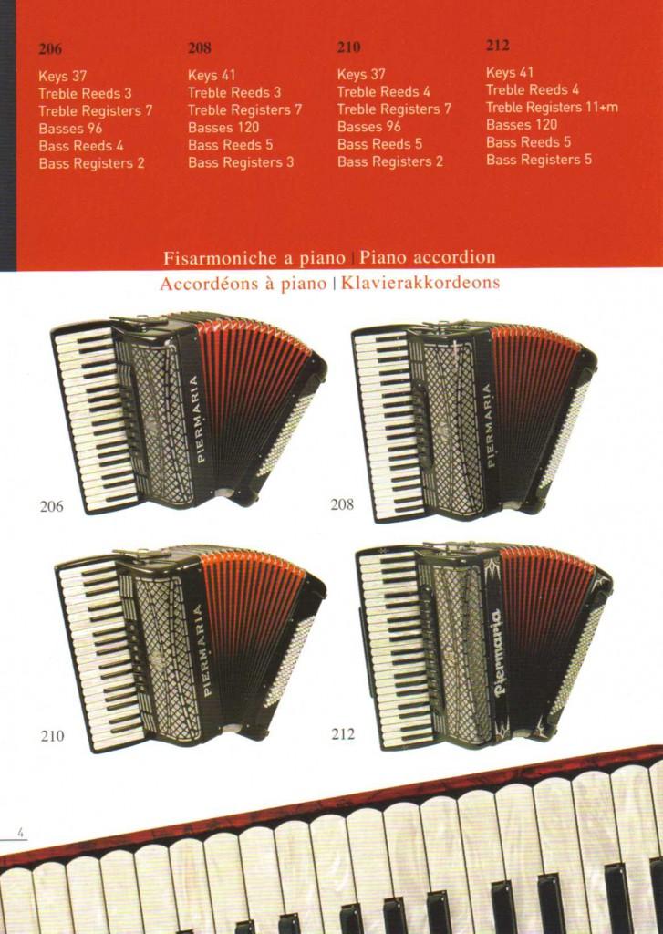 Piermaria, учебный аккордеон