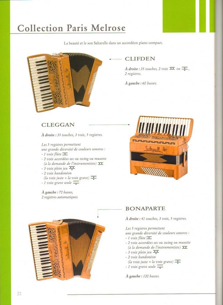 Saltarelle,аккордеон Cliden