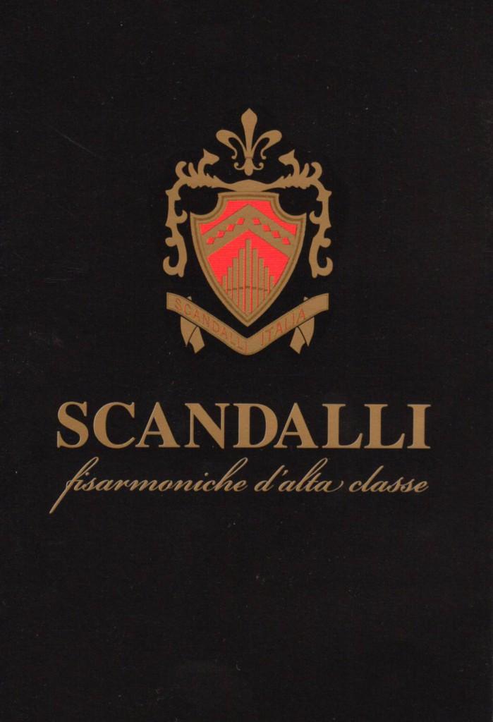 Знаменитые аккордеоны и баяны Scandalli