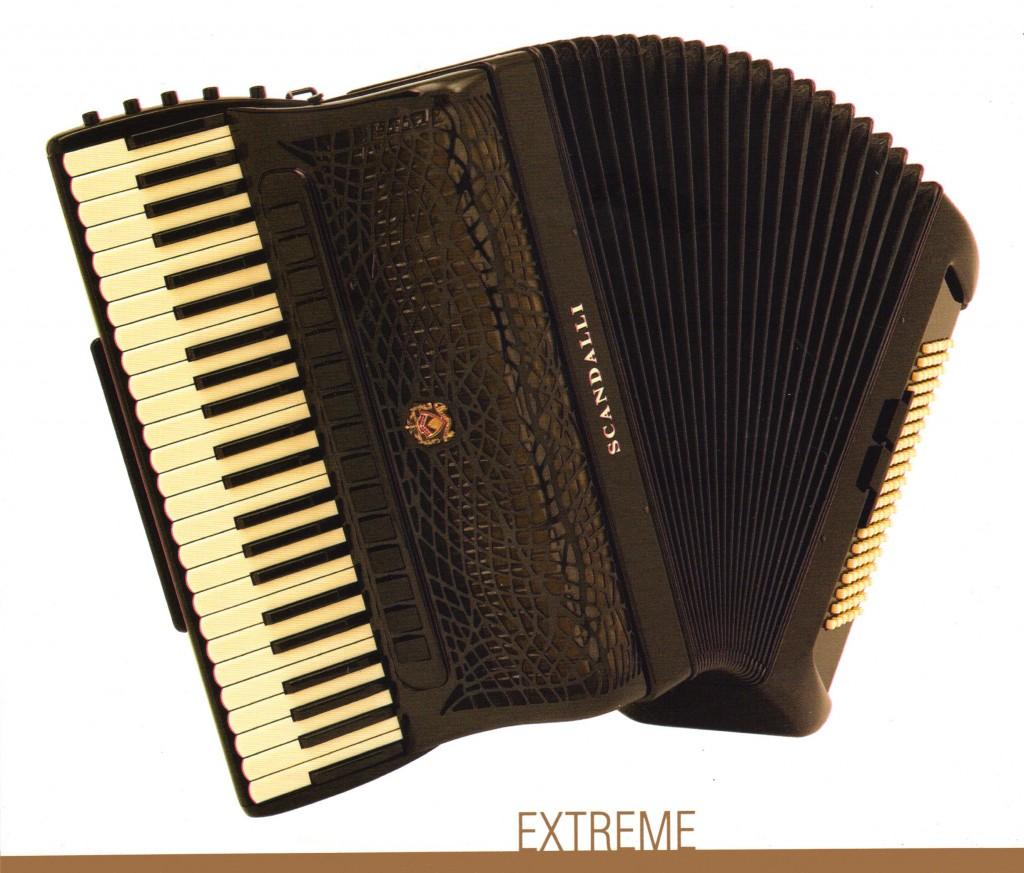 Scandalli, концертный аккордеон Extreme