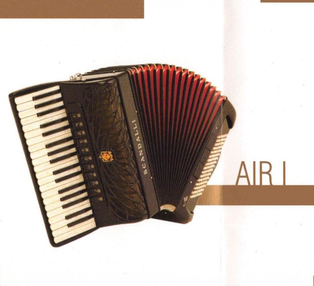 Scandalli, аккордеон Air