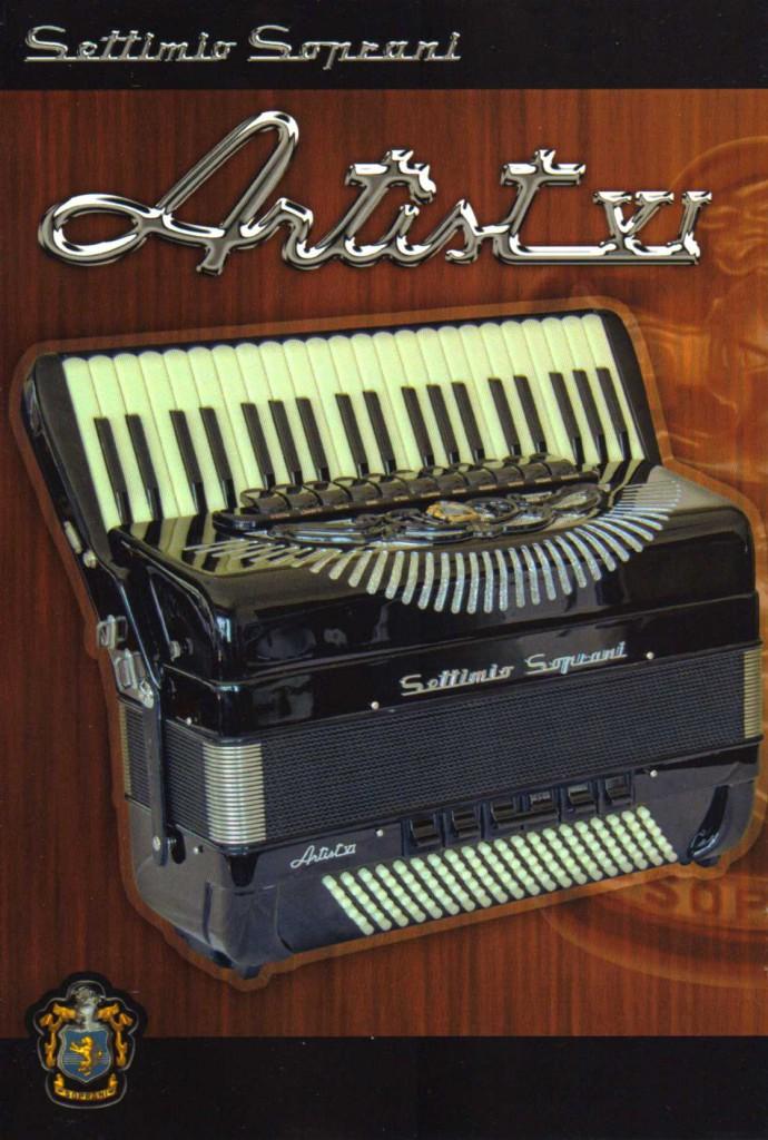 Settimio Soprani, аккордеон Artist VI