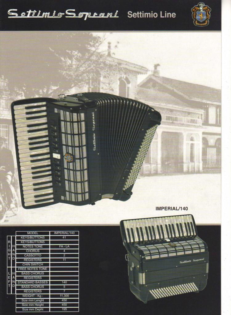 Settimio Soprani, аккордеон