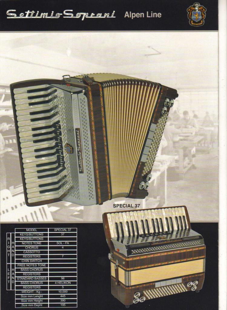 Settimio Soprani, фольклорный аккордеон