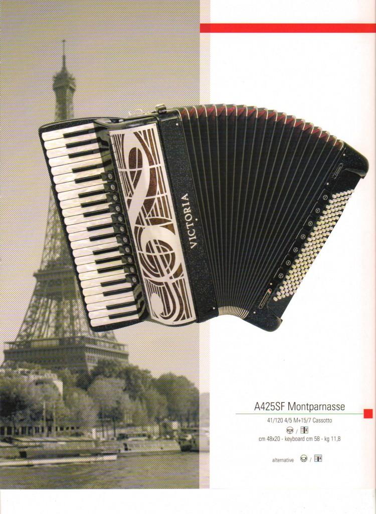 Victoria, аккордеон Montparnasse