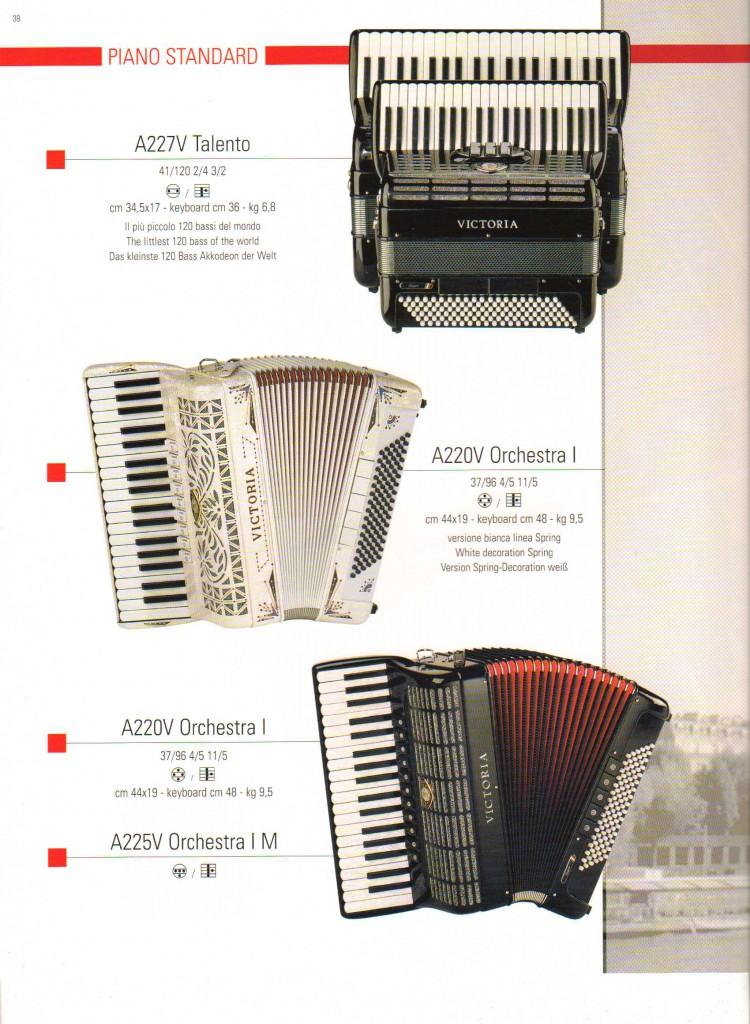 Victoria, аккордеон Talento и Orchestra