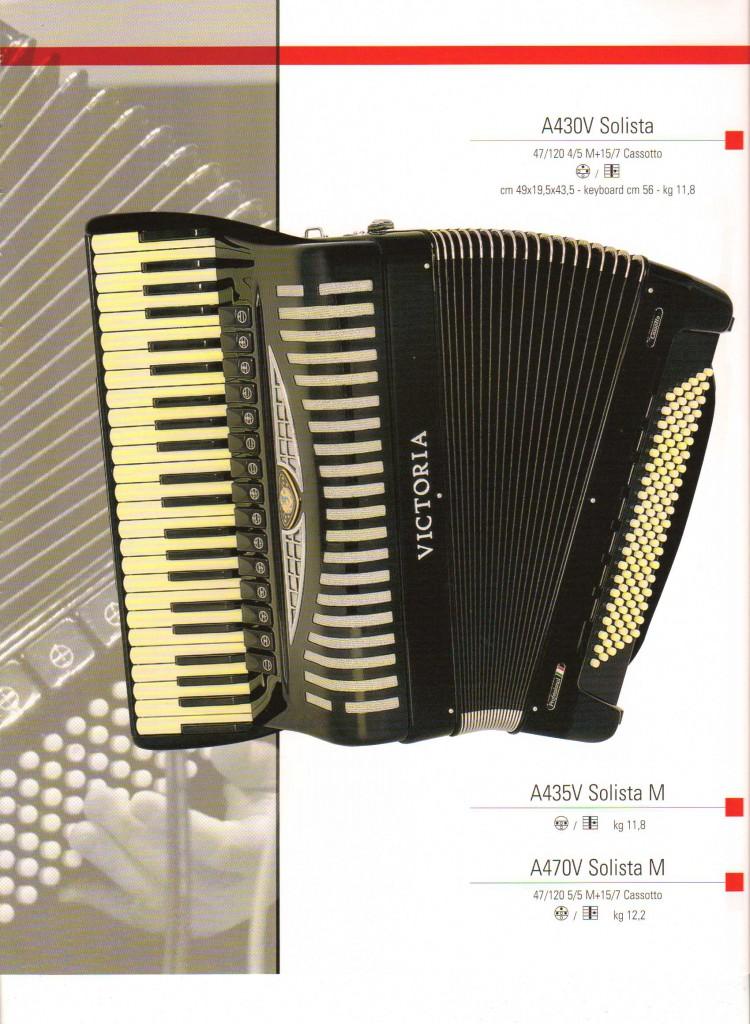 Victoria, аккордеон Solista