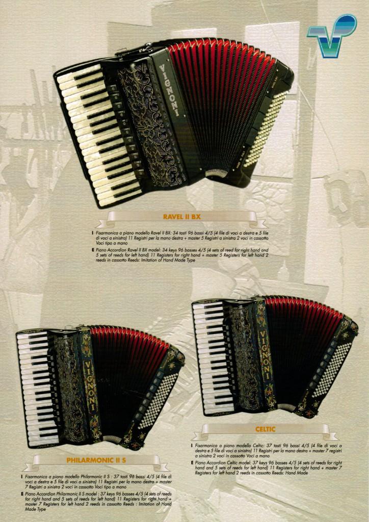 Vignoni, аккордеон Philarmonic, Ravel, Celtic