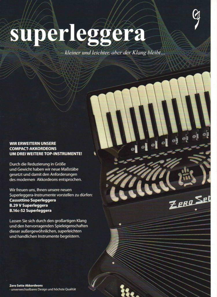 Zero Sette, аккордеон, баян