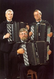 Липецкое трио баянистов