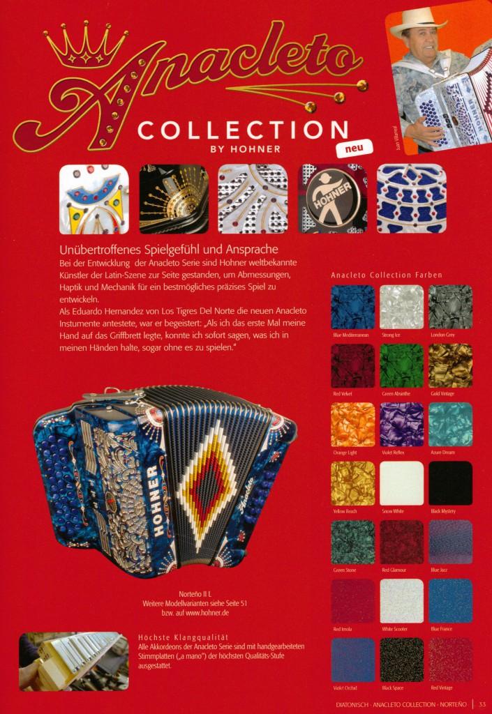 Латино-американская коллекция Anacleto