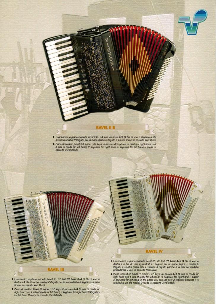Vignoni, аккордеон для начинающих