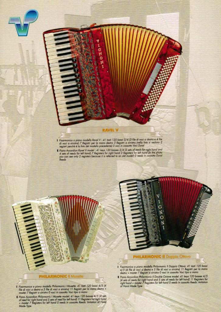 Vignoni, аккордеон Philarmonic, Ravel