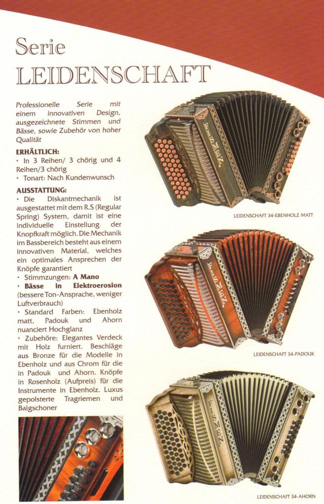 Fismen. Немецкие гармони