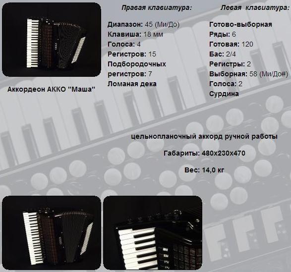 АККО. Аккордеон Маша